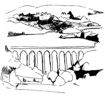 Les rives de Pannecière