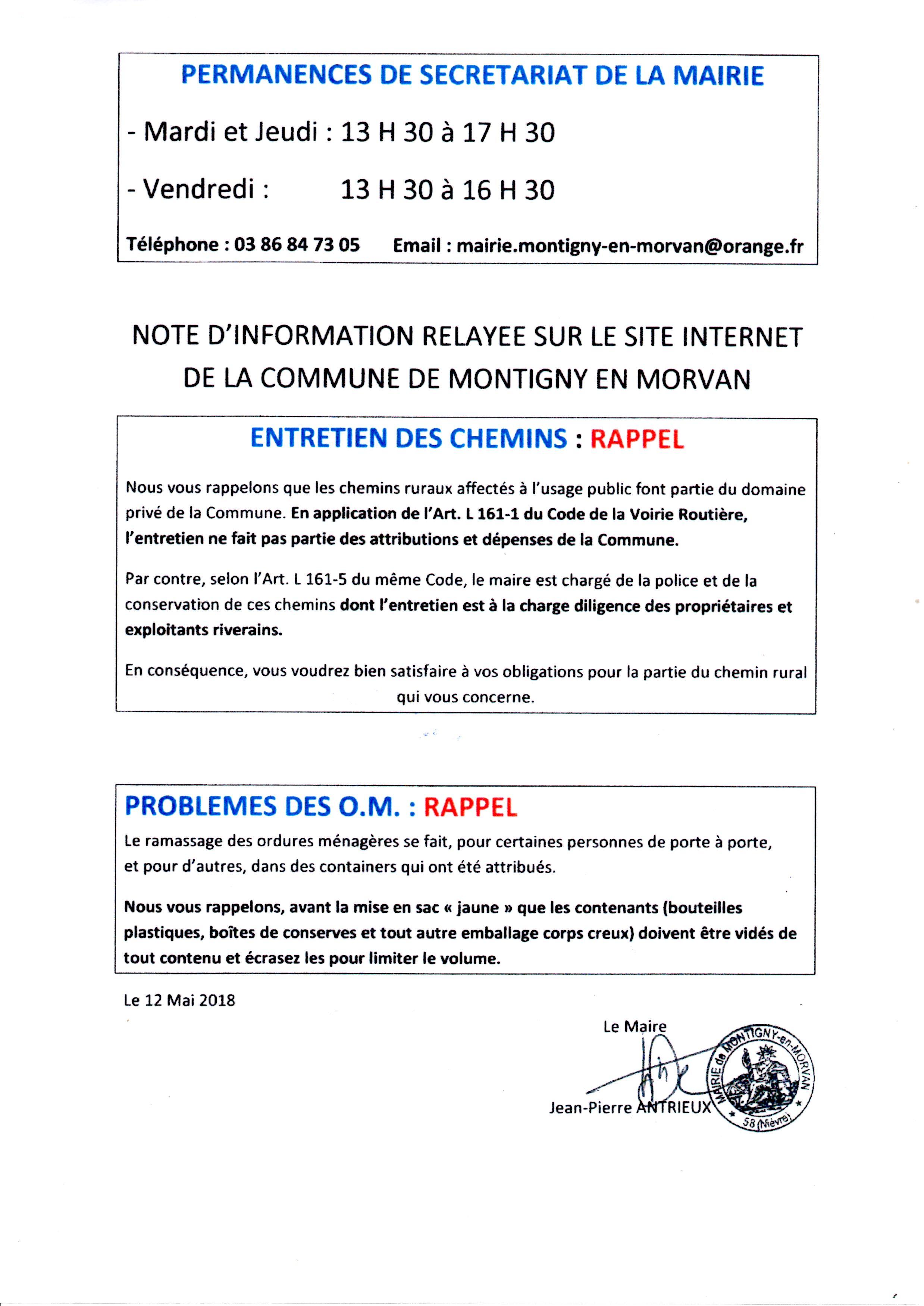 20180623-rappel Chemins et OM